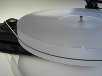 ACRYLIC PLATTER for Pro-Ject RPM 1 milky-white