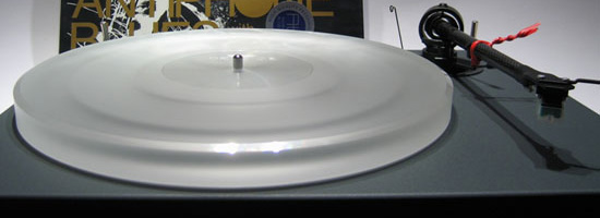 ACRYLTELLER Pro-Ject Xpression II Pro-Ject 1.2 milchig-weiß