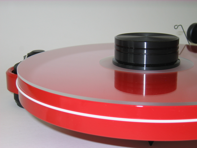 Pro Ject Turntable Rpm 1 3 Genie Red Acrylic Turntable