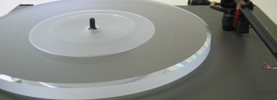 ACRYLIC PLATTER UPGRADE for Turntable Rega Planar 1 (Modell 2016) and P1 - P2  clear