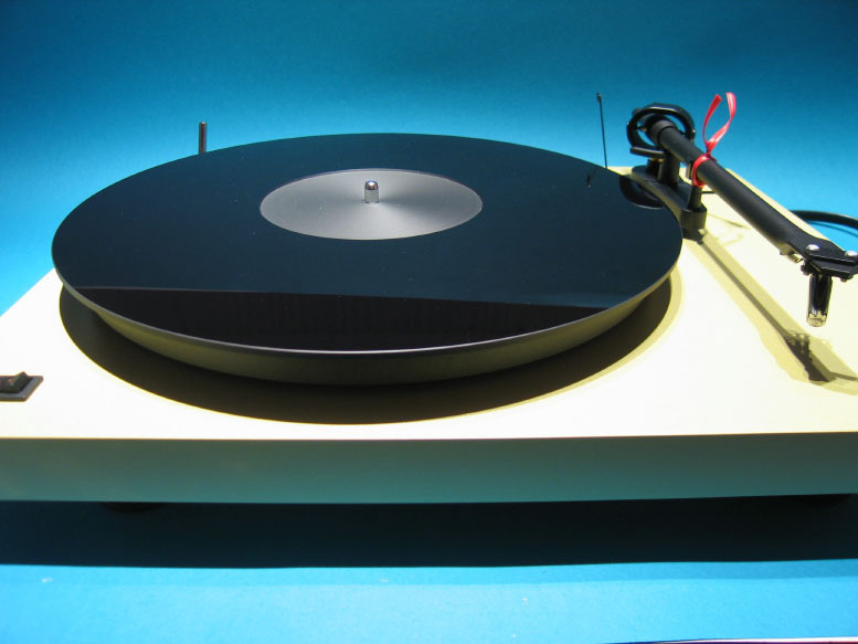 Delta Device Acrylic Turntable Mat Black Polished With