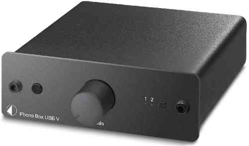 Pro-Ject Phono Box USB V Phono-Vorverstärker (MM/MC)