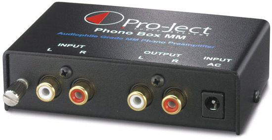 Pro-Ject Phono Box MM  Phono Pre-amplifier