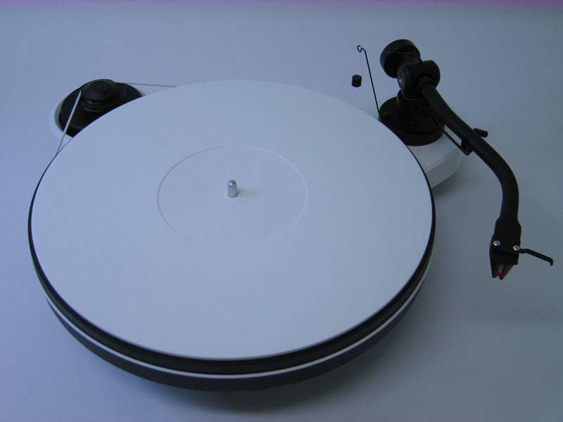 Delta Device Acrylic Turntable Mat White Grinded With