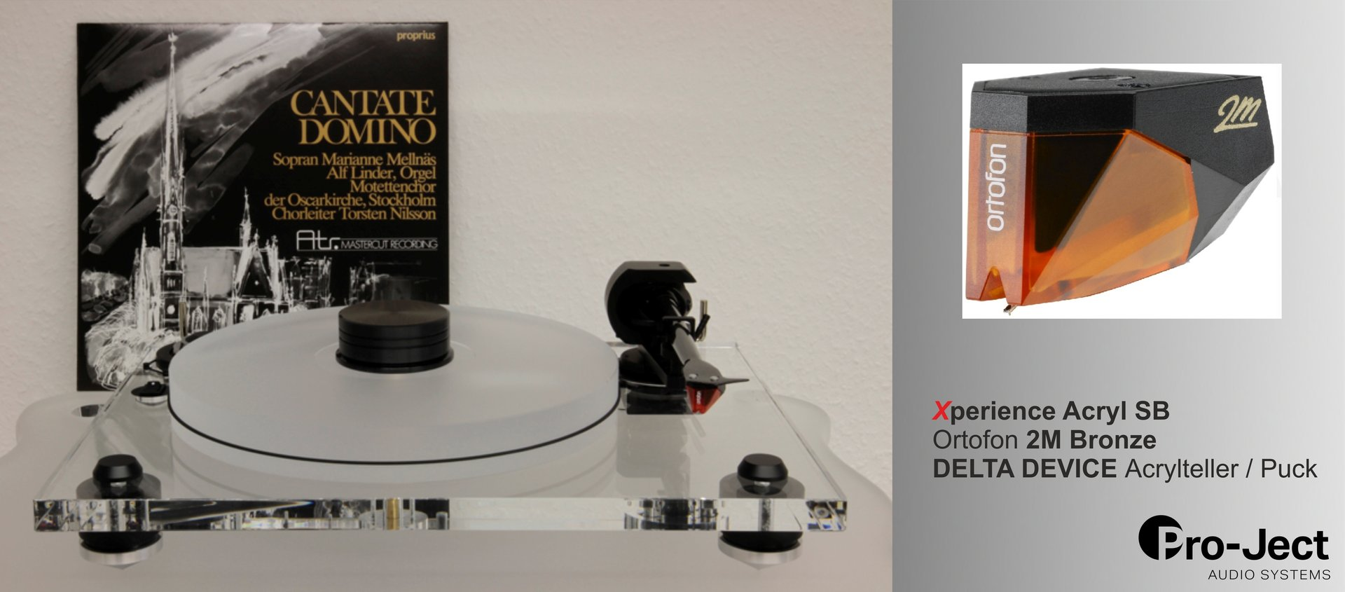 PRO-JECT Xperience SB ACRYL DeltaDevice Bronze Edition Upgrade