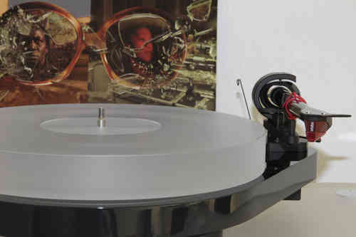 ACRYLIC PLATTER for Turntable Pro-Ject RPM 5.1 und RPM 5 - RPM 4 milky-white 35mm