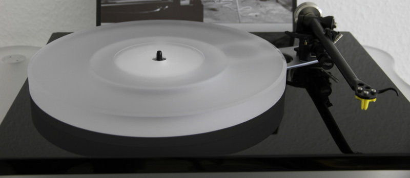 ACRYLIC PLATTER UPGRADE for Rega RP6 and Planar 6 (2017) turntable :: clear (milky-white)