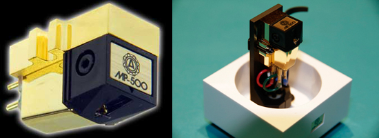 Nagaoka MP-500H  MM-cartridge with Headshell