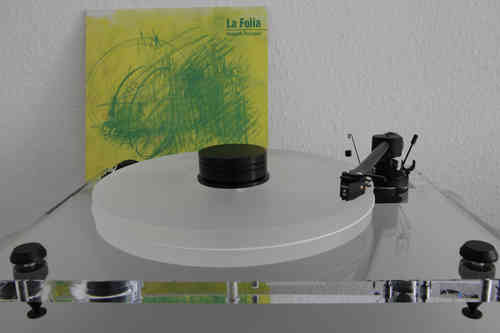PRO-JECT Xperience BASIC+  inkl. DELTA DEVICE Acrylteller und 180g Puck