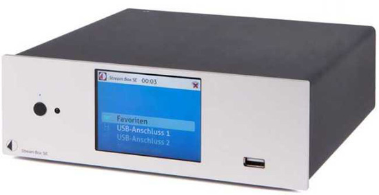 PRO-JECT Stream Box DS :: Highend audio mit Wi-Fi, LAN, USB sources