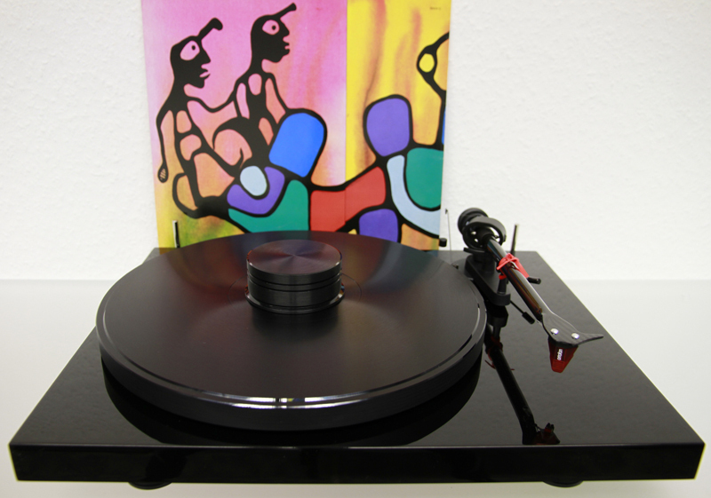 Pro-Ject DEBUT Carbon Esprit phase-out-model +DD Acrylteller