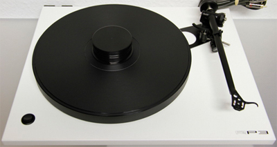 REGA RP3 turntable with DD Vinyl Platter black+Puck