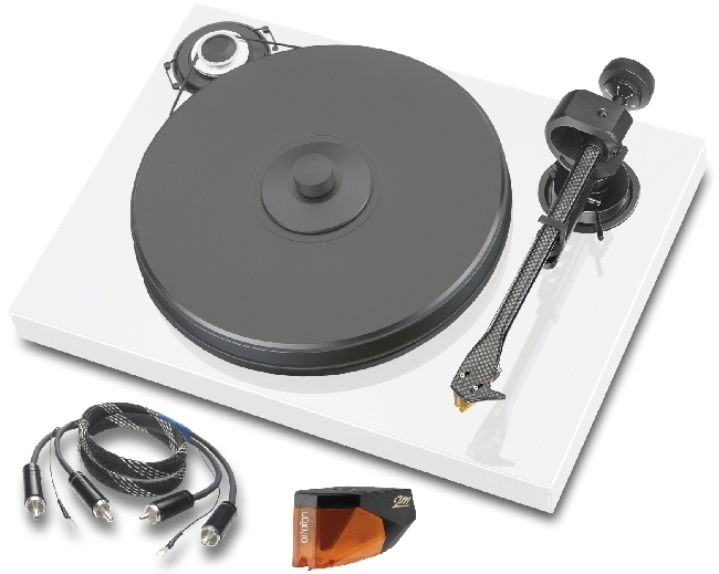 pro ject xperience classic turntable with ortofon 2m silver. Black Bedroom Furniture Sets. Home Design Ideas