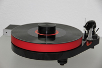 ACRYLIC PLATTER for Turntable Pro-Ject RPM 5.1 RPM 5 - RPM 4 red 30mm