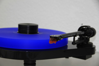 ACRYLIC PLATTER for Turntable Pro-Ject RPM 5.1 RPM 5 - RPM 4 blue 30mm