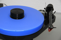 ACRYLIC PLATTER for Turntable Pro-Ject RPM 5.1 RPM 5 - RPM 4 lightblue 30mm