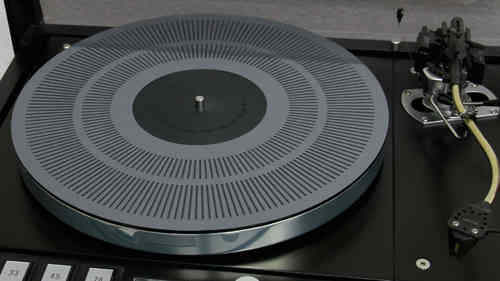 ACRYLIC TURNTABLE MAT DUO with stroboscope marking