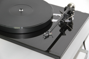 ACRYLIC PLATTER UPGRADE for Rega RP6 turntable :: 27mm black
