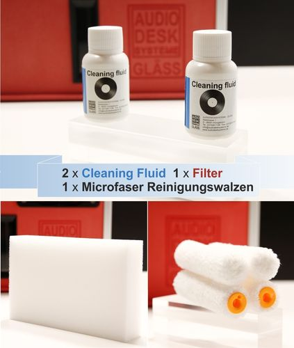 GLÄSS VINYL CLEANER - Accessories SET I