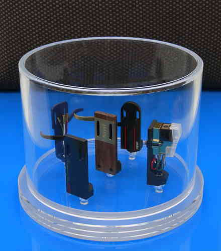 DELTA DEVICE Headshell Cartridge Box - transparent