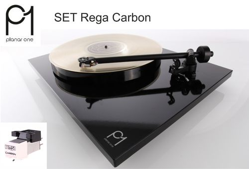 REGA Planar 1 | 2016 turntable - black | Rega Carbon MM