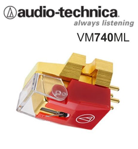 AUDIO-TECHNICA VM740ML Dual MM Stereo Tonabnehmer / MicroLine™ stylus