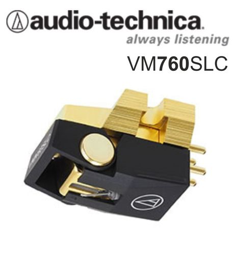 AUDIO-TECHNICA VM760SLC Dual MM Stereo Cartridge / Special Line Contact stylus