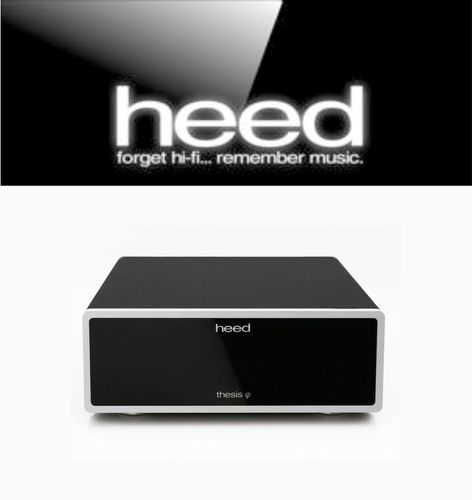 HEED AUDIO THESIS PHI phono stage incl. THESIS PI power supply