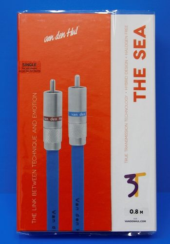 van den Hul 3T The SEA Hybrid (halogen free) RCA | interconnect cable