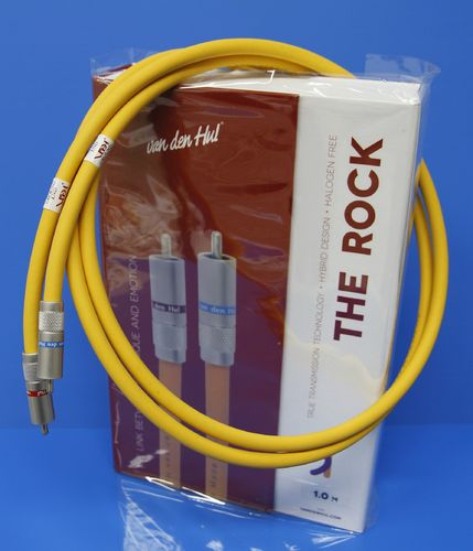van den Hul 3T The ROCK Hybrid (halogen free) RCA | interconnect cable