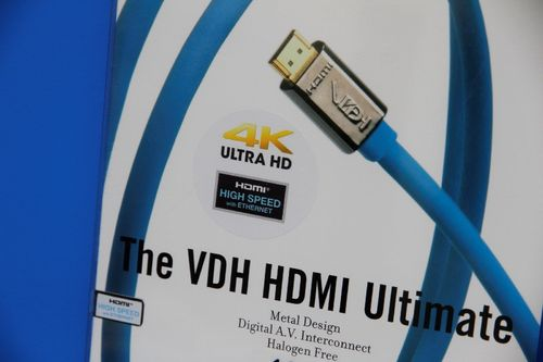 van den Hul The VDH HDMI Ultimate 4k (Halogen Free) | HDMI Kabel Länge 1 m
