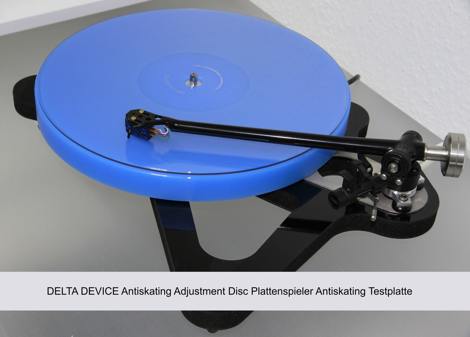 DELTA DEVICE Antiskating Adjustment Disc