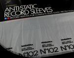 NAGAOKA Diskfile 102 Anti-static Record Sleeves