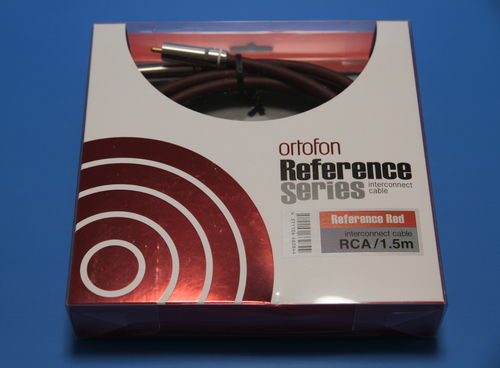 Ortofon Reference RED Geräteverbindungskabel - 1,5m