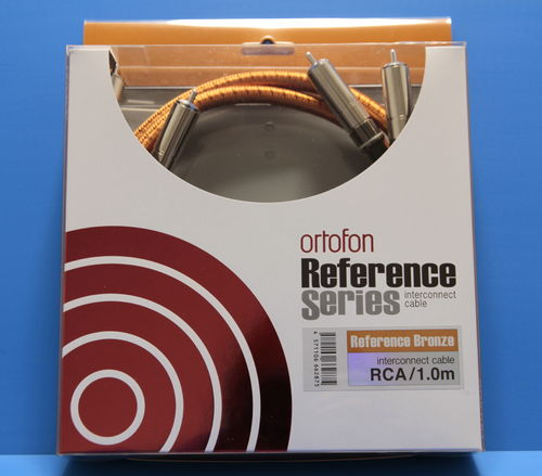 Ortofon Reference BRONZE RCA Interconnect Cable - 100cm