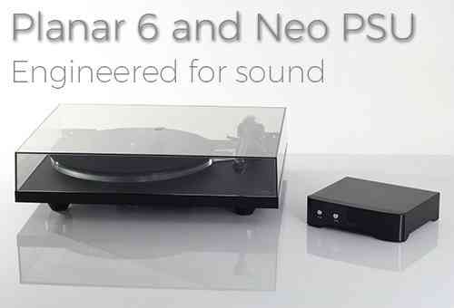 Rega Planar 6 + NEO PSU - without cartridge