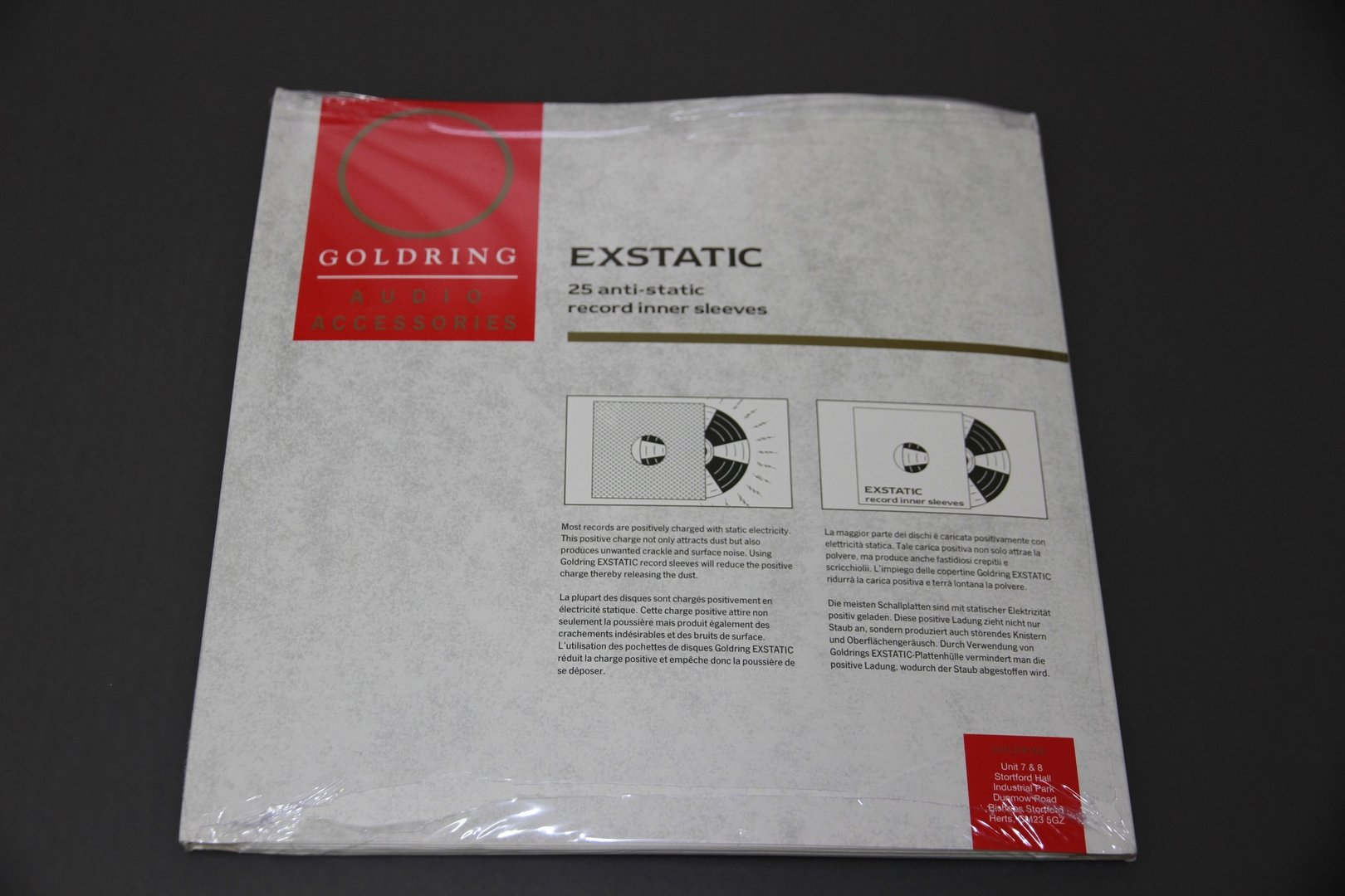 GOLDRING Milty Exstatic Anti-Static Record Inner Sleeves