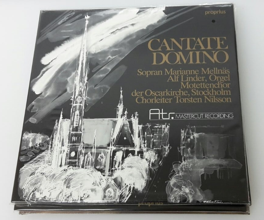 Atr Audio Trade CANTATE DOMINO – LP 180g | Mastercut Recording (ATR 002)