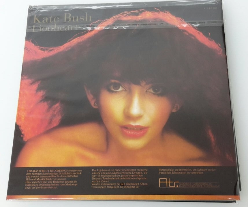 Atr Audio Trade KATE BUSH - Lionheart LP 180g | Mastercut Recording (ATR 008)