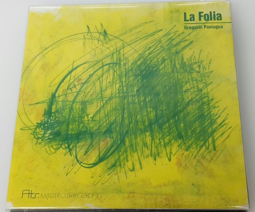 Atr Audio Trade GREGORIO PANIAGUA – La Folia LP 180g | Mastercut Recording (ATR 013)