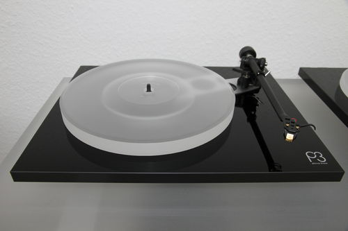 DELTA DEVICE ACRYLIC PLATTER for turntable Rega Planar 3 (P3) - 2016 :: S24 milky-white