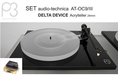 REGA Planar 3 + audio technica AT-OC9/III  | Offer Bundle Complete-Set with Cartridge