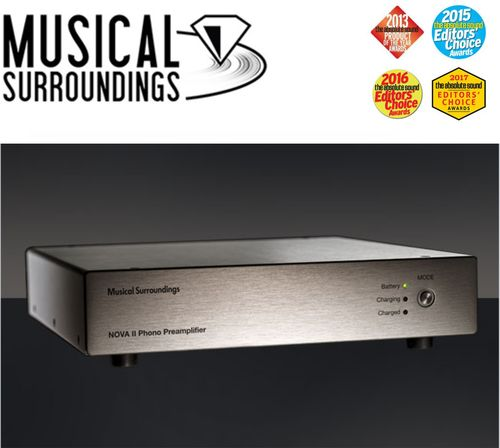 Phono Preamplifier NOVA 2 Musical Surroundings MM/MC Phono Stage