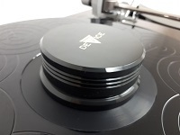 180g Vinyl Record Puck DELTA DEVICE | black-polished