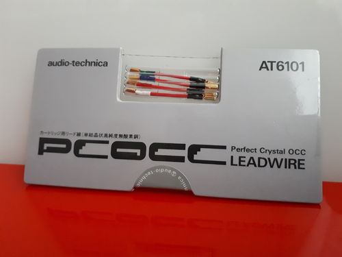 AUDIO TECHNICA AT6101 PCOCC-Headshell Kabel |Verkabeln des Tonabnehmers LEADWIRE