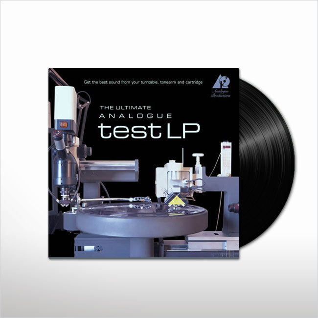 For best results, we recommend The Ultimate Analogue Test LP by Analogue Productions