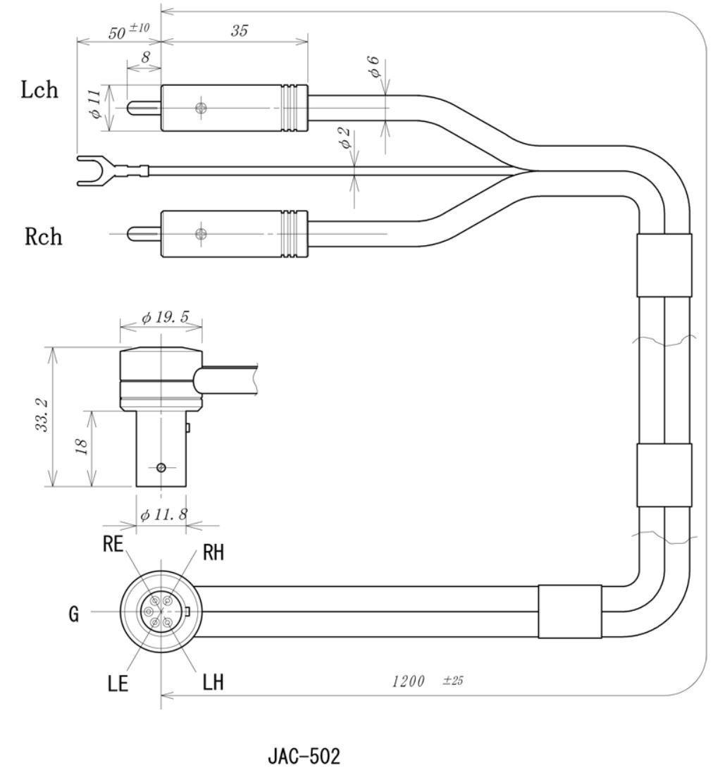Rega Tonearm Wiring Diagram 27 Images Rca Diagrams Jelco Tonearmcable 502 Drawing Original Ofc Cable 5 Pin Right Angle Plug